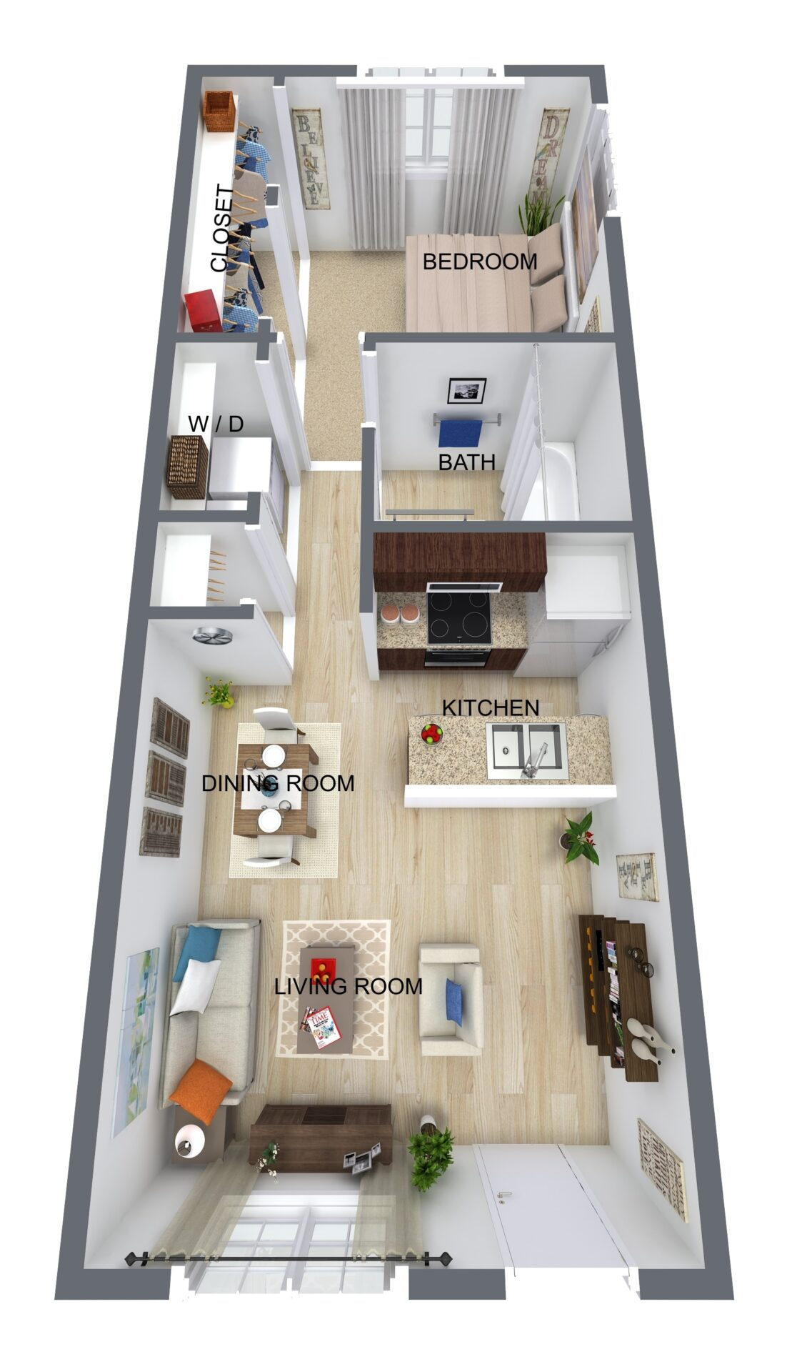 2BR - new construction