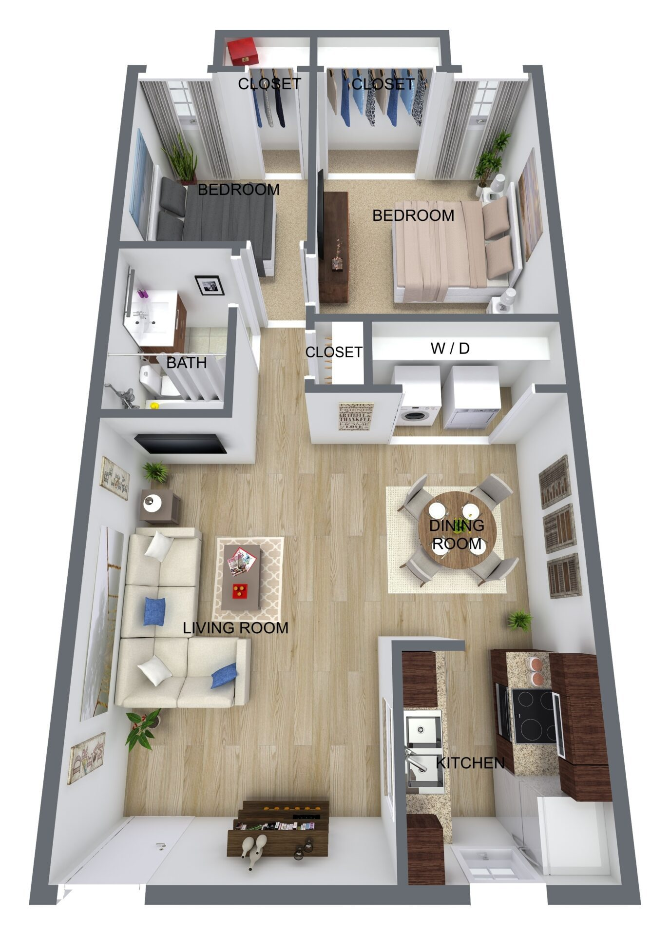 1BR - new construction